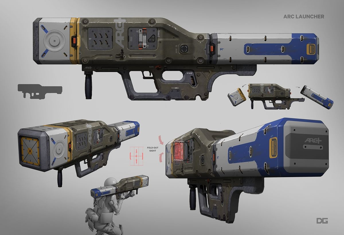 Titanfall 2 Weapons - Danny Gardner