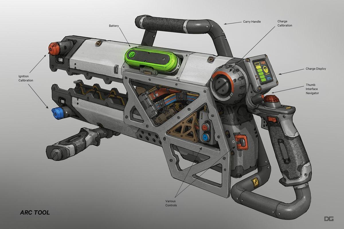 Titanfall 2 Weapons Danny Gardner